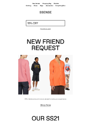 SSENSE - In with the New: SS21 Debuts