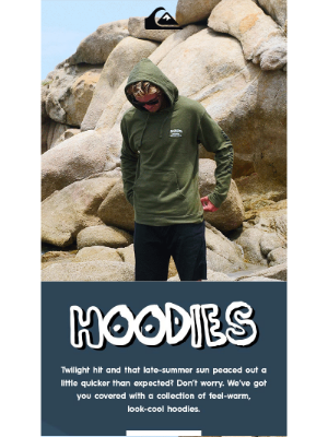Roxy - Warm hoodies for cool nights