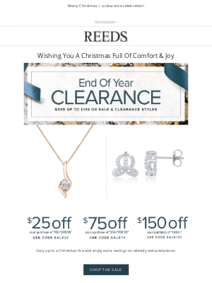 REEDS Jewelers - The warmest of wishes...