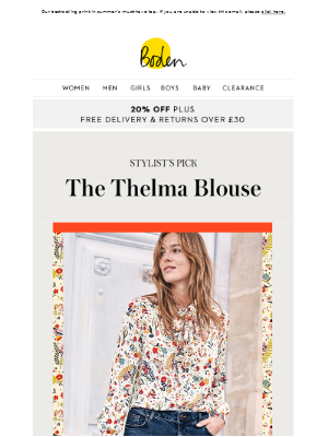 Stylist's Pick | The birds and the bows