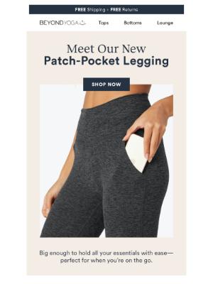 Beyond Yoga - A New Pocket Legging!