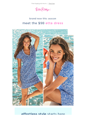 Lilly Pulitzer - Your May Uniform: this t-shirt dress