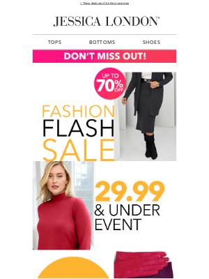 Jessica London - EXPIRING: $29.99 & Under deals ❗
