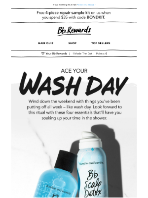 Bumble & Bumble - How to ace your wash day