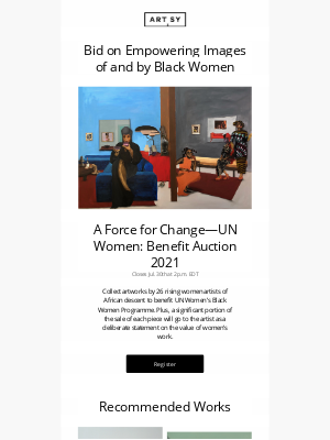 Artsy - Works by 26 emerging Black women artists | Now at auction