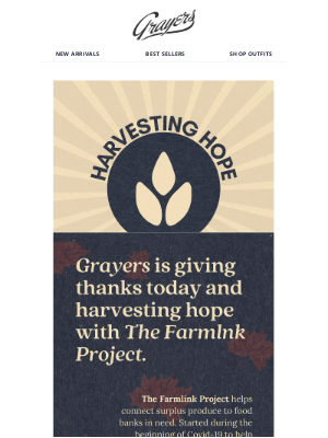 Grayers - Join the GivingTuesday Movement