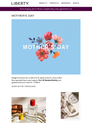 Liberty London (UK) - Made for mothers