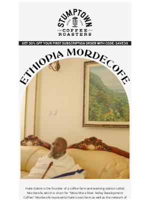 Stumptown Coffee Roasters - Producer Spotlight: Ethiopia Mordecofe