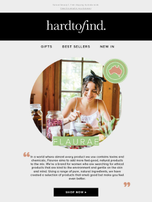 HardToFind AU - Aussie-made, organic skincare by Flaurae 🌻