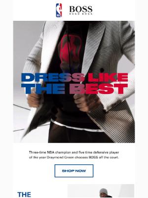HUGO BOSS - DRESS LIKE THE BEST   BOSS & NBA