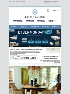 Bedroom Furniture Discounts - Cyber Monday Sale Ends Tomorrow! 📢