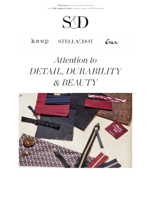 Stella & Dot - Our best-loved bags