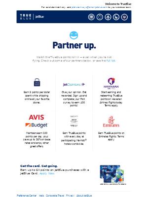 JetBlue Airways - TrueBlue & You: Howdy, partners!