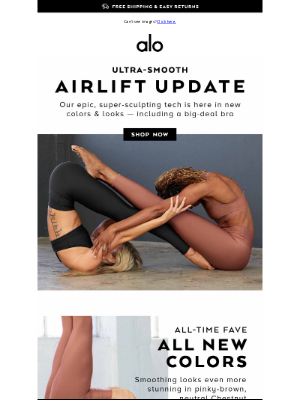 Alo Yoga - 💓 Your Body On Airlift 💓