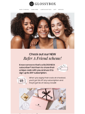 Glossybox - Refer A Friend Is BACK! 🧑‍🤝‍🧑
