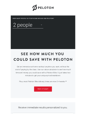 Peloton - We Did the Math for You...