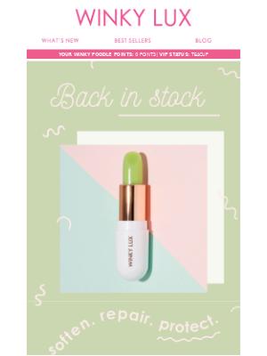 BACK IN STOCK: Matcha Lip Balm