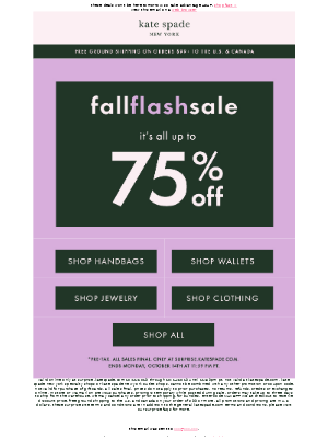 ACTION NEEDED: up to 75% off ends tonight