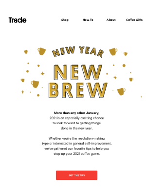 Trade Coffee - What Will You Brew in 2021?