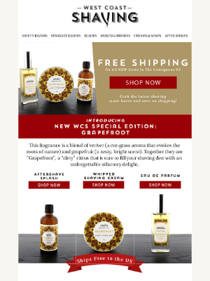 NEW! special edition whipped shaving cream + more | 🚚 FREE shipping
