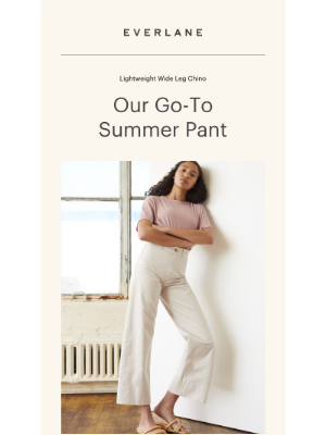 Our Summer Choice: This Chino