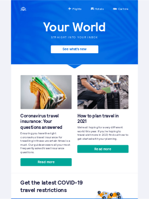 Skyscanner (UK) - Coronavirus travel insurance: Your questions answered