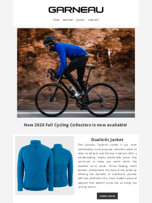 Garneau - Let's Get Dress For Chilly Days!