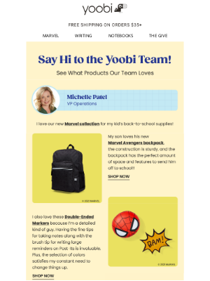 Yoobi - Check Out Our Favorite Products