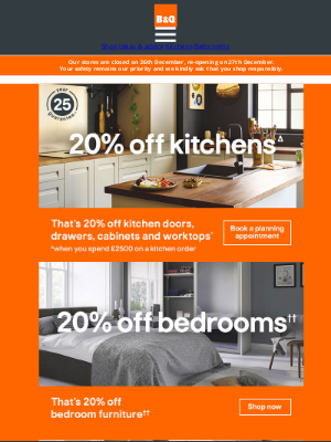 DIY at B&Q (UK) - Our 20% off event is now on!