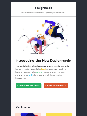 Designmodo - Introducing the New Designmodo, Adobe Podcast, Mailchimp Partners, Summer Emails, Bootstrap 5