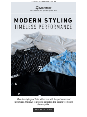 New Styles from TaylorMade by Peter Millar