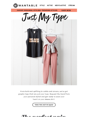 Wantable - these tops are your type »