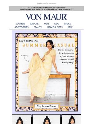 Von Maur - Dreamy Summer Dresses!