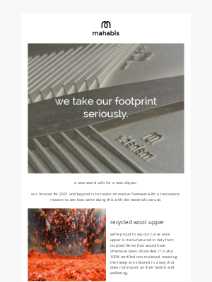 Mahabis - we take our footprint seriously