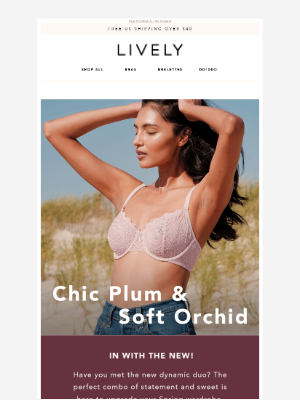 Lively - CHIC PLUM & SOFT ORCHID