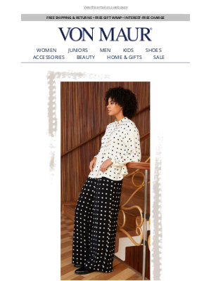 Von Maur - Masai Clothing: Wonderful to Wear