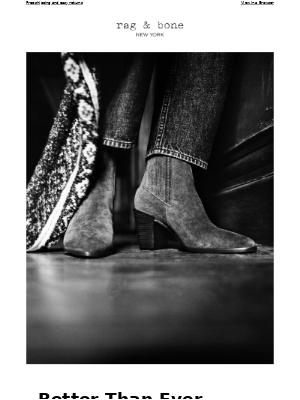 rag & bone - A Decade Of Boots