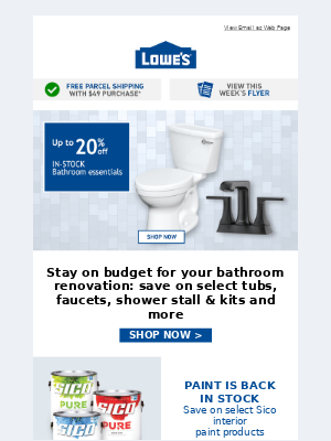 Stay on budget for your bathroom renovation