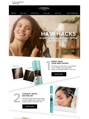 L'Oreal Paris - Hair Hacks You Should Know!