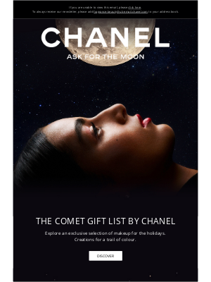 Chanel (UK) - The Comet Gift List by CHANEL.