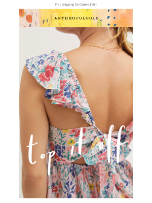 Anthropologie - Can we top you off?