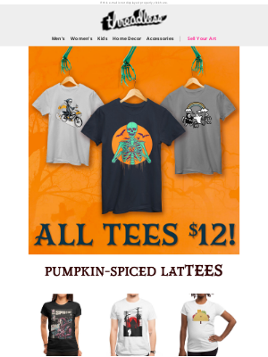 Threadless - These tees are the bee's knees. 🐝
