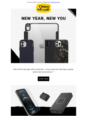 OtterBox - Gear up for 2021 with 50% off
