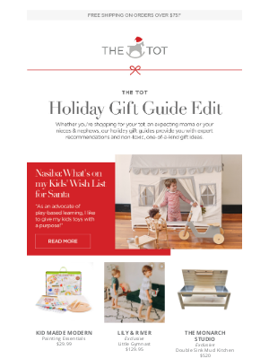 The Tot - From Nasiba: What's on my Kids' Wish List