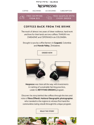 Coffees back from the brink