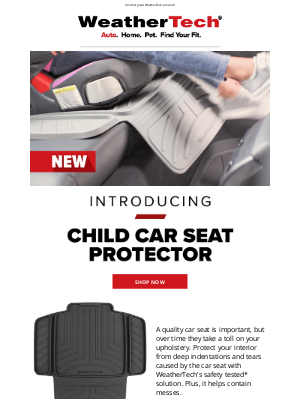 WeatherTech - 🚨 New Product Release 🚨