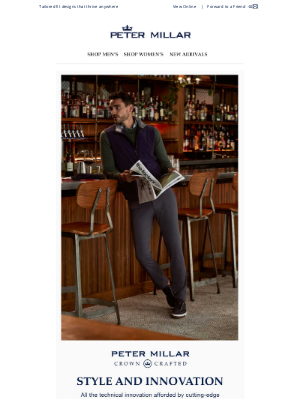 Peter Millar - Explore Crown Crafted: Style And Innovation