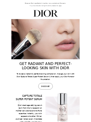 Get radiant and perfect-looking skin with Dior