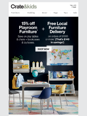 15% off Play Furniture (For Fun at Home!)