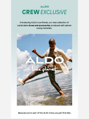 ALDO - ✨ 24 HRS EARLY ACCESS >> ALDO Love Planet